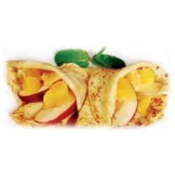 Блины с яблоком