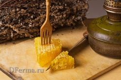 Мед в сотах (0,5 кг.)