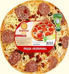 Пицца Блинни Бон Пепперони 350г
