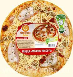 Пицца Блинни Бон Мясное ассорти 400г