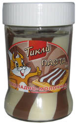 Паста шоколадно-молочная Тикли 350 г