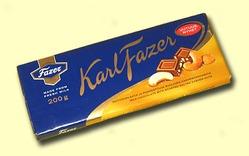 Fazer. Молочный шоколад с кешью