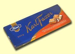 Fazer. Молочный шоколад с фундуком