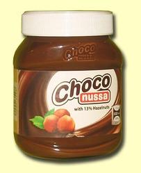 Choco nussa. Шоколадно-ореховая паста (13% орехов)