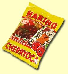 Harribo Cherryyoka. Жевательные конфеты Вишня и кола