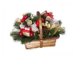 Подарочная корзина Сладкая зима