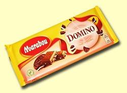 Marabou Domino. Молочный шоколад c печеньем Domino
