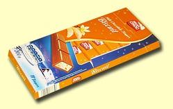 Mister Choc Biscuit. Молочный шоколад Бисквит и ваниль